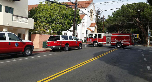 Jim Paredes Daughter Takes A Break From Social Media Amid: Santa Barbara City Fire Trucks Blocked Off The 200 Block