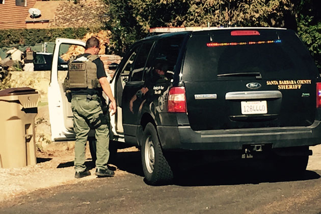 Authorities deployed tear gas and called in a crisis negotiation team during an hours-long standoff with a barricaded subject in a Carpinteria residence. The man was later found dead inside the trailer.