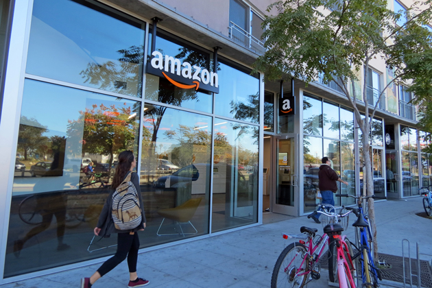 A new Amazon location has opened in the Loop in Isla Vista, allowing customers of the online retailer to pick up packages — sometimes even on the same day as the order.