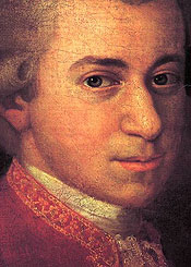 Wolfgang Amadeus Mozart, here 24, was about as old as he ever got to be when he wrote his 'Clarinet Concerto.'