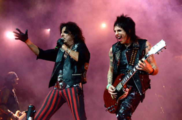 <p>Alice Cooper brought his musical stylings to the Chumash Casino Resort last Thursday.</p>