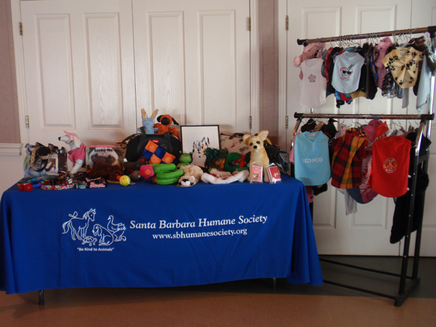 Pet toys, clothing, collars, leashes and more will be available at the Santa Barbara Humane Society's Holiday Pet Boutique, with sales planned from 8 a.m. to 2 p.m. Dec. 1 and Dec. 15. (Santa Barbara Humane Society photo)