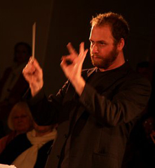 Christopher Rountree, UCSB's new conductor of the University Symphony, comes from Los Angeles trailing clouds of critical glory.