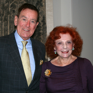 Brian King and Lady Leslie Ridley-Tree. (Melissa Walker / Noozhawk photo)