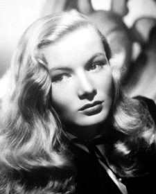 Actress Veronica Lake, who taught us that everything we knew about witches was wrong.