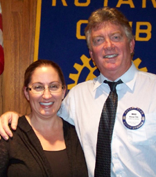 Frances Gilliland will succeed president-elect Michael Pitts. (Rotary Club of Goleta photo)