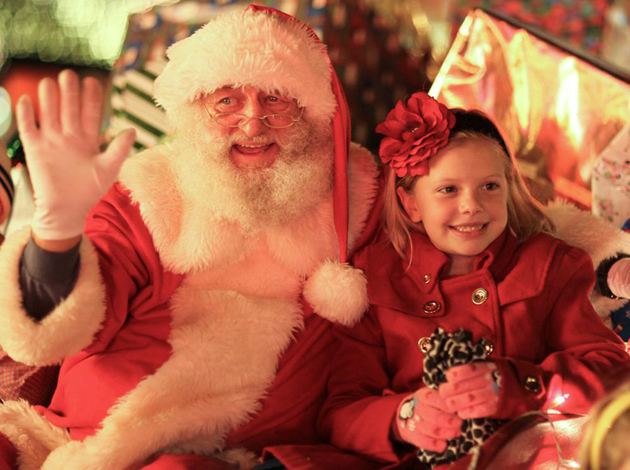 <p>Santa Claus was the star of Friday night&#8217;s Downtown Holiday Parade along State Street in Santa Barbara.</p>