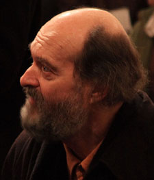 Composer Arvo Pärt in Christ Church Cathedral in Dublin in 2008.