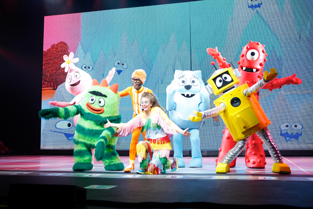 Get the Sillies Out! with Yo Gabba Gabba! on March 8 at the Arlington Theatre.