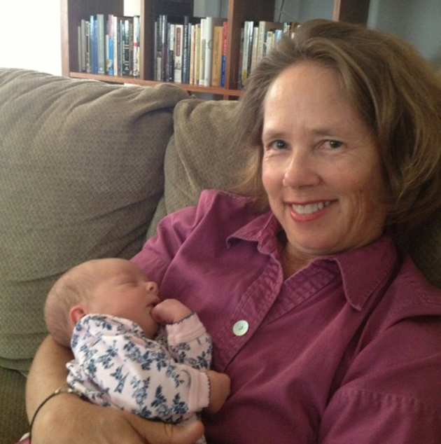 Karen Telleen-Lawton with granddaughter Charlotte. (Alex Farrell Porter photo)