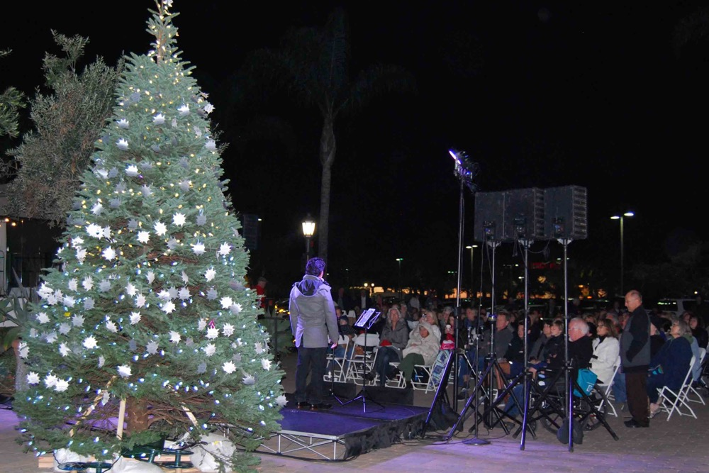 The 33rd annual Light Up A Life tree lighting ceremony in Goleta was hosted by Hospice of Santa Barbara. Community members placed stars on the tree during the event to honor loved ones and friends who have died.
