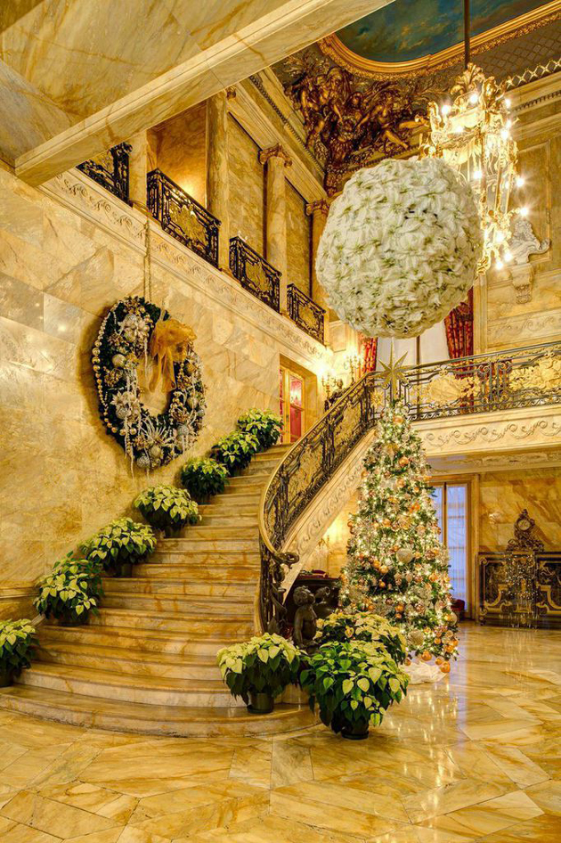 Here Amp There Gilded Age Christmas In Newport R I