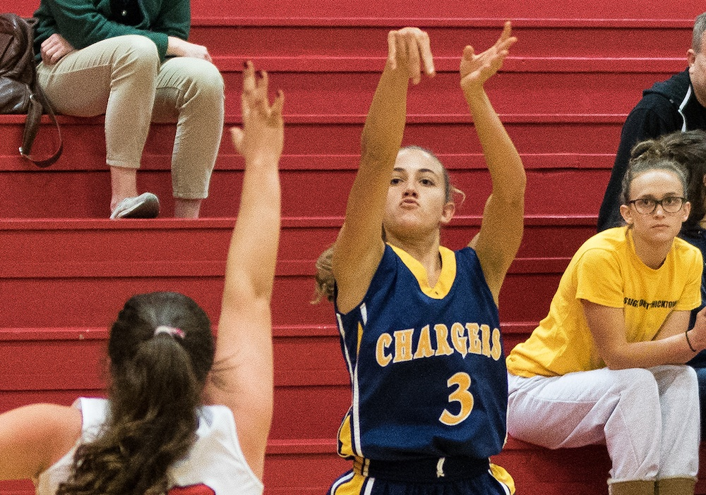 Camila Casanueva scored 30 points for Dos Pueblos in a 61-20 win over San Marcos.