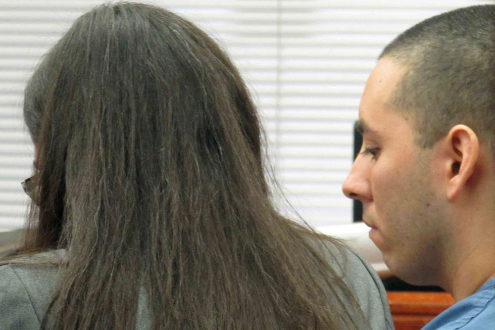 Arturo Herrera appeared in Santa Barbara Superior Court on Wednesday, and was sentenced to 26 years to life in state prison for fatally bludgeoning his younger brother.