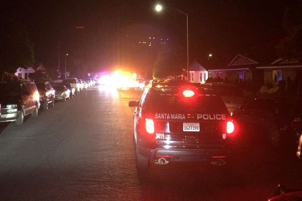 A teenage boy was shot to death Wednesday night on West Newlove Drive in Santa Maria in what police say likely was a gang-related killing