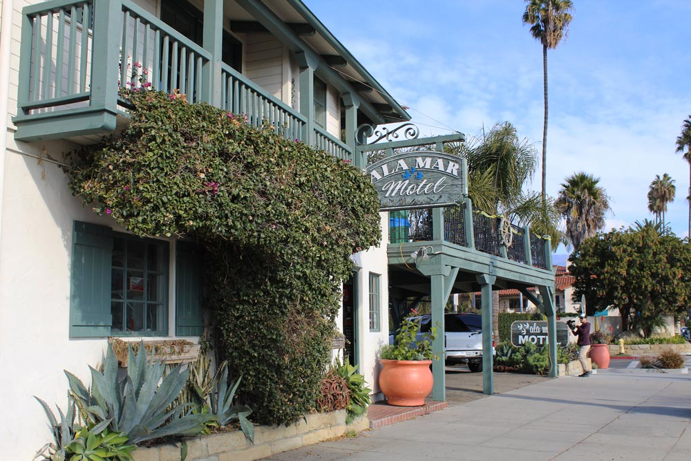 The Ala Mar Motel at 102 W. Cabrillo Blvd. is managed by Santa Barbara landlord Dario Pini and is one of many residential and motel properties being inspected by the city for health and safety violations.