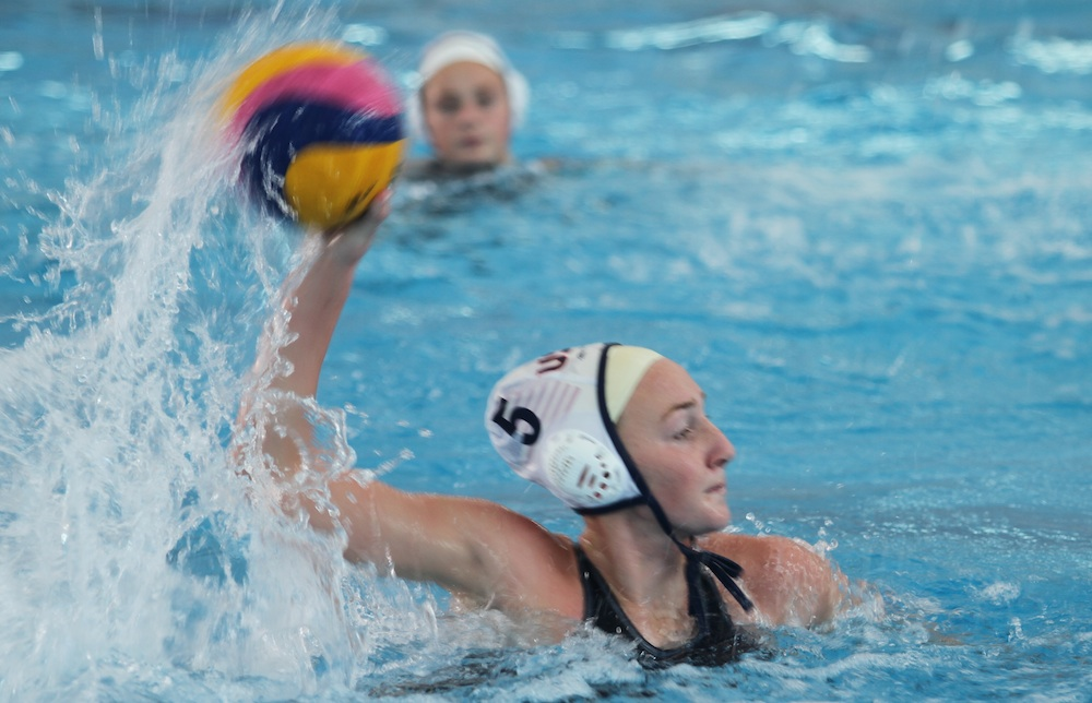 Paige Hauschild of San Marcos High scored five goals for Team USA in a 26-10 win over Japan at the FINA Youth World Championship in New Zealand.