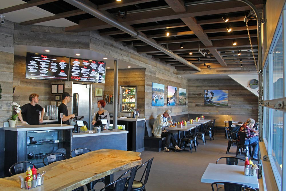 Owners Cat Cora and Chris Chiarappa want Mesa Burger to serve gourmet food in a family-friendly setting.