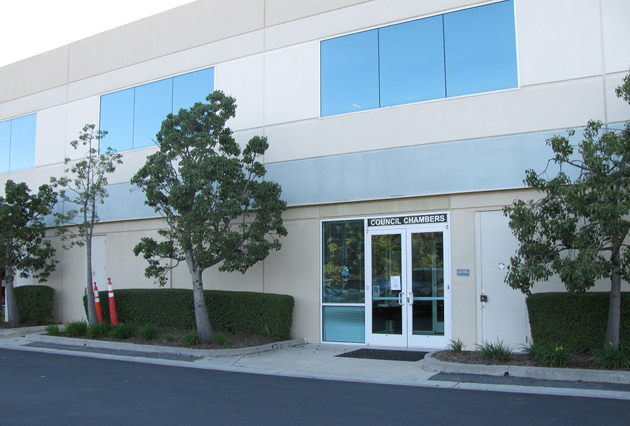 The City of Goleta leases the building at 130 Cremona Drive for its offices and Council Chambers, and officials plan to expand into the second floor early next year. (Giana Magnoli / Noozhawk photo)