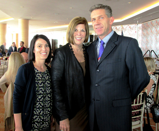Velia Razo, left, Diana MacFarlane and Jeff Oien.