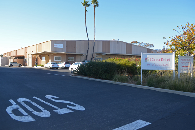 Goleta is interested in purchasing the Direct Relief warehouse property next to the Amtrak station on La Patera Lane.