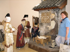 The Peace Center in Bethlehem houses a large nativity collection.