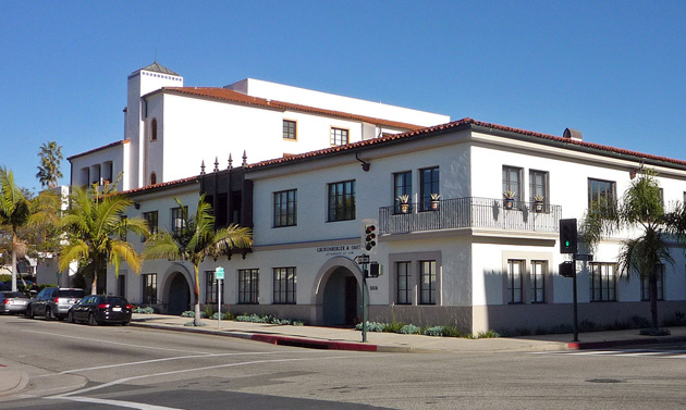 The Bank of Manhattan's mortgage division will occupy 2,455 square feet of office space at 1004 Santa Barbara St., at the corner of Carrillo Street in Santa Barbara. (Hayes Commercial Group photo)