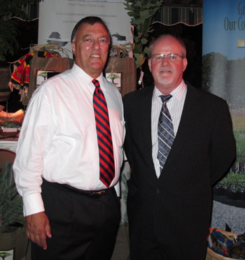 The Eden Reforestation Project was championed by former Santa Barbara Mayor Hal Conklin, left, and founded by Steve Fitch. (Eden Reforestation Project photo)