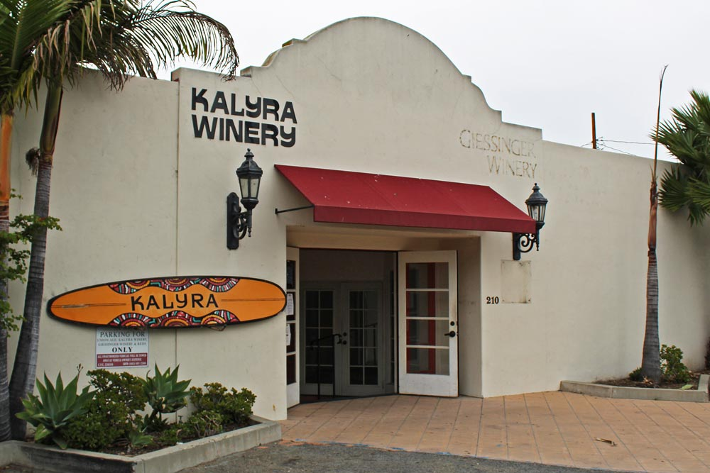 Kalyra by the Sea, Kalyra Winery's Funk Zone tasting room, is closing Dec. 27.