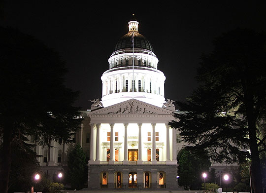 California is facing dark days ahead, with a $41.8 billion budget gap anticipated by July 2010 — nearly half the $86 billion in revenue the state expects to collect during the coming fiscal year.