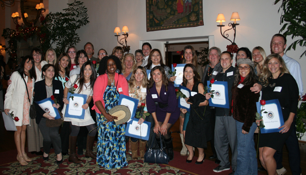 <p>Women's Economic Ventures&#8217; Self-Employment Training graduates from Santa Barbara County are ready to take on the business world after receiving their certificates. (Women's Economic Ventures photo)</p>