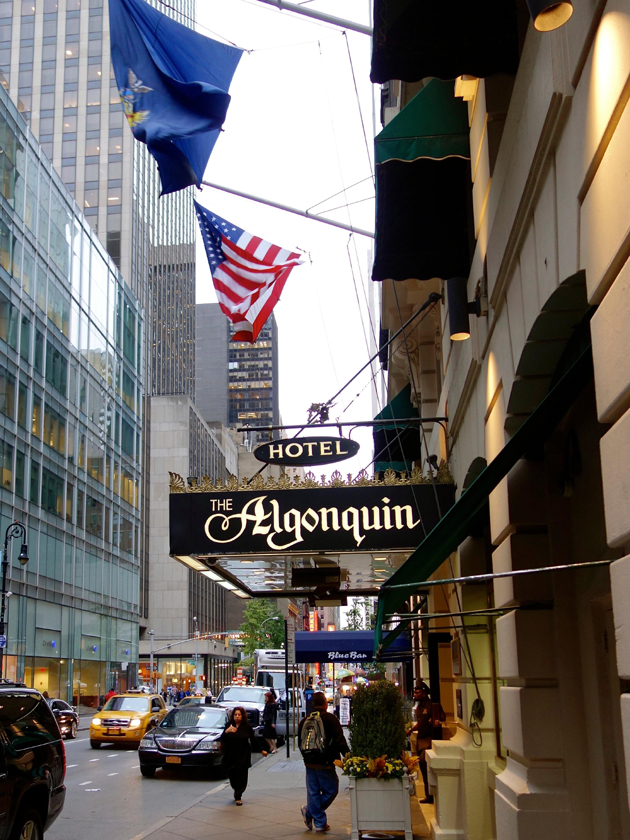 The Algonquin Hotel on West 44th Street opened in 1902 and recently underwent a multimillion-dollar renovation.