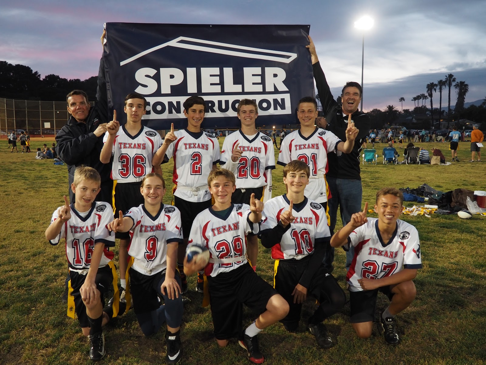 7494229e Texans Capture Friday Night Lights Flag Football 7th/8th Grade Title ...