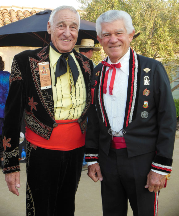 Drs. Herb Barthels, left, and Art Najera both served terms as El Presidente of Old Spanish Days.