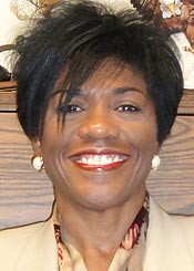 Brenda Powell's volunteer work with Partners in Education is gratifying to her. 'Many times schools won't have the money to hire someone to speak and to inform students of possible career opportunities,' she says in explaining why she's motivated to step up and help. (Powell family photo)