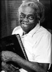 In explaining her philanthropic philosophy, Oseola McCarty had a simple explanation: 'I can't do everything,' she said. 'But I can do something to help somebody.' (findagrave.com photo)