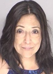 Paula Lopez Ochoa is on the move. (Santa Barbara County Jail photo)