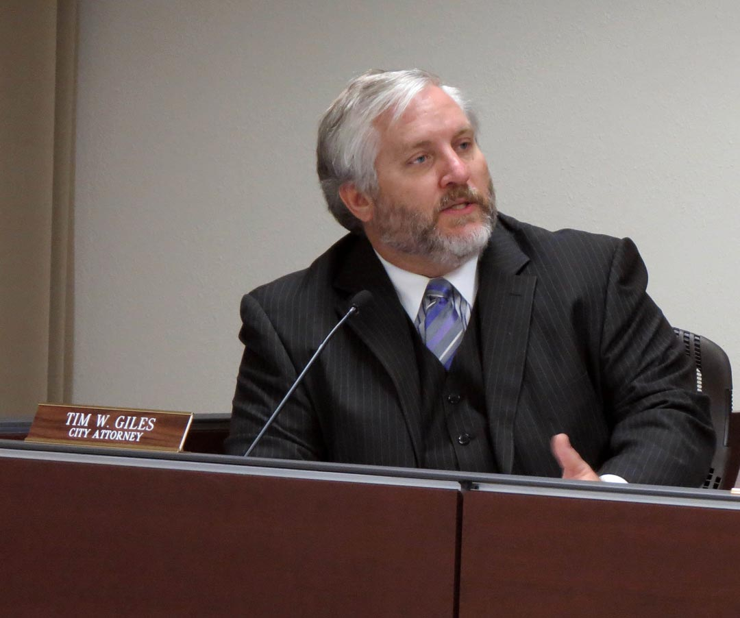 Goleta City Attorney Tim Giles reportedly resigned from the job Tuesday night.