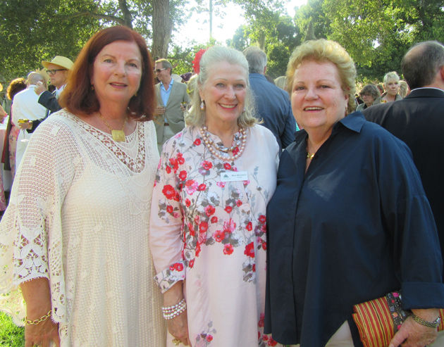 Mimi Michaels, left, Carol Wager and Tish Gainey.