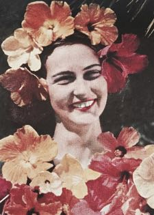 As a young woman, Kelly Adams was featured in a 1941 National Geographic issue about Panama. (Adams family photo)