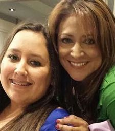 Alana Ochoa, with her mom, is on the road to recovery. (Ochoa family photo)