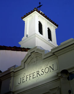 The Jefferson campus is the former home of Jefferson Elementary School.