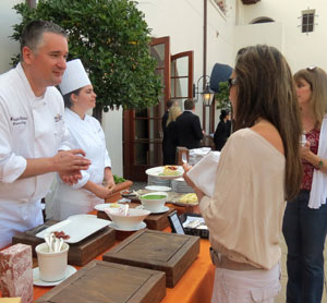 Guests at Bacara Resort & Spa's open house were given the chance to explore the cuisine of Pacific Hospitality Group's newly formed Meritage Collection, which includes Bacara and three other high-end resorts in Newport Beach, La Jolla and Napa. (Gina Potthoff / Noozhawk photo)