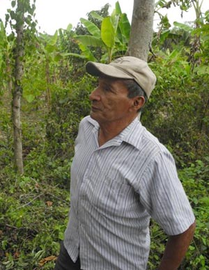 Zacarias 'Chaco' Quixchan relies on his skills and techniques like cutting and fire to help his crops grow in the Maya forest. (Anabel Ford photo)
