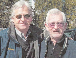 Danny O'Brien's words of wisdom still resonate with Randy Weiss, left. Among the golden nuggets: Make promises sparingly and keep them faithfully. (Weiss family photo)
