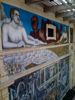 The Detroit Institute of Arts Museum includes an impressive permanent exhibit of muralist Diego Rivera's work. (Frank McGinity photo)