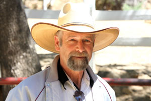 Doug Brink, a veteran cowboy and ranch hand at Circle Bar B Guest Ranch west of Goleta, was seriously injured in a riding accident June 7. (Hall family photo)