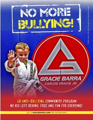 Gracie Barra academy anti-bullying class