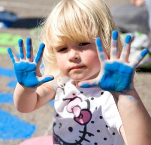 Orcutt Children's Arts Foundation officials believe their inaugural chalk festival had just the right touch for the organization's future growth. (Amber Litzinger / Joyful Life Photography photo)