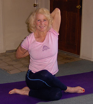 Rae Beebe's commitment to yoga has changed her life, and now the 82-year-old is a yoga instructor at the Ventura Family YMCA.